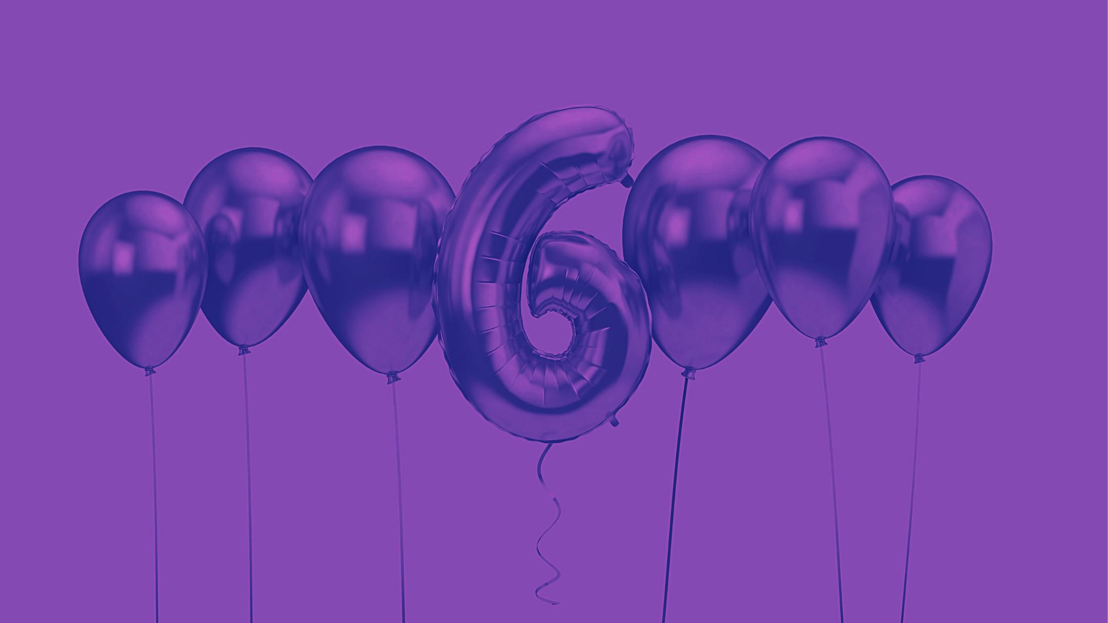 Happy 6th Birthday Violet